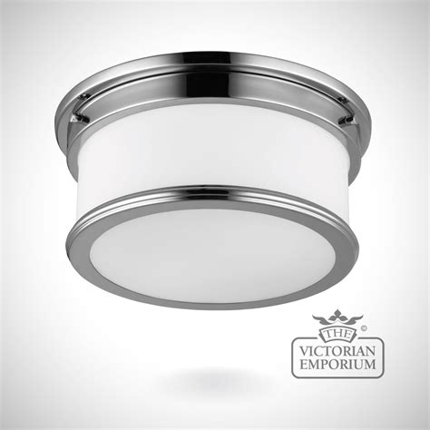 Bathroom Flush Mount Light by Payne Bathroom Flush Mount Light In Polished Chrome Lights