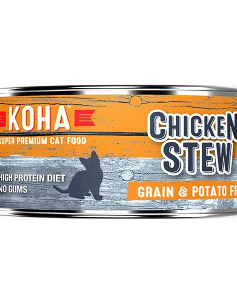 Koha Chicken For Cats Stew 5.5oz - Molly's Healthy Pet Food Market