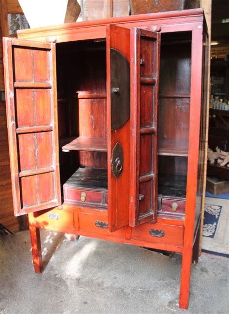 Armoire Quatre Portes by Armoire Quatre Portes Chinoise Laque Puces D Oc