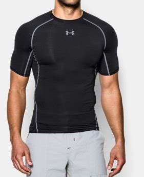 mens compression short sleeve shirts  armour