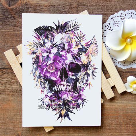 buy wholesale skull flower tattoos  china skull