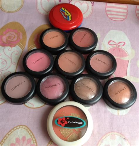 year   makeup  mac blush collection