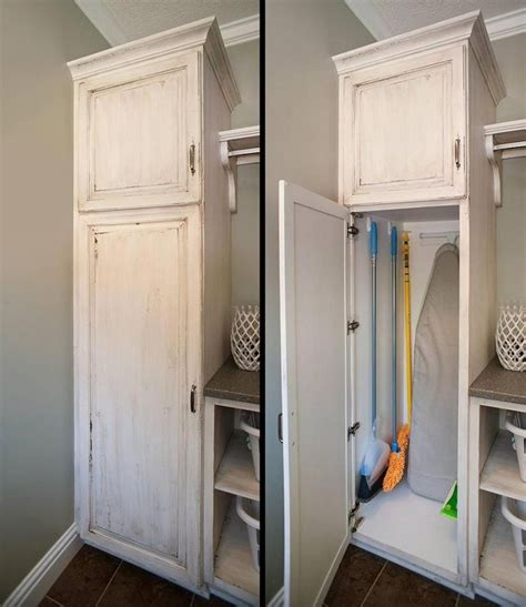 Small Broom Closet Organization Ideas by 37 Best Cheap Ikea Cabinets Laundry Room Storage Ideas