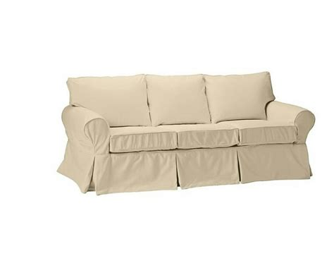 pottery barn sofa covers pottery barn pb basic sofa slipcover cover