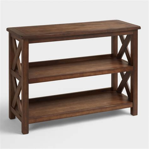 world market bookcase verona two shelf bookshelf world market