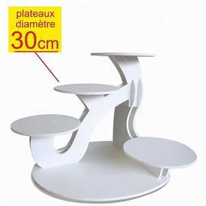 Prsentoir Gteaux Excellence 5 Gteaux Diamtre 30cm