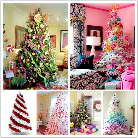 christmas decor colorful  neutral glam