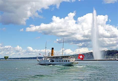 Lake Geneva Switzerland Boat Tours by Alps Lake Bike Tour Switzerland Tripsite