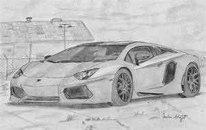 Sachin Bhagat Art: Lamborghini Sketch   Beautiful Art ...