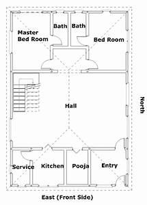 east house vastu plan 1 vasthurengancom With bathroom in south east corner