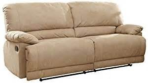 amazon com homelegance elsie double reclining sofa in
