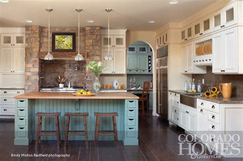 Rustic Kitchen  Mediterranean  Kitchen  Denver By