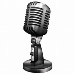 Vintage Microphone Icon - Vintage Icons - SoftIcons.com