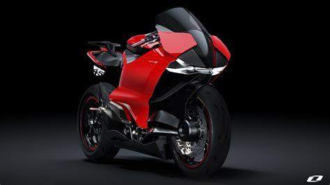 Ducati Zero Electric Superbike 2020 By Suraj Tiwari