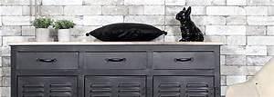 Meuble Entree Industriel : made in meubles meuble industriel bois massif meuble scandinave ~ Teatrodelosmanantiales.com Idées de Décoration