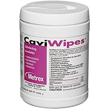 Amazon.com: CaviWipes by Metrex Disinfecting Towelettes