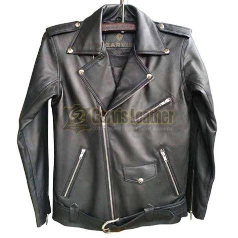 jual jaket kulit asli  changcuter model  merk garvis
