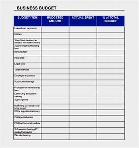 budget justification template - pro forma budget template