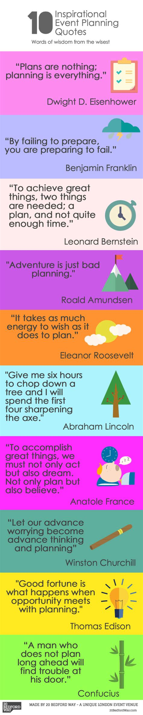 inspirational event planning quotes inspiring quotes