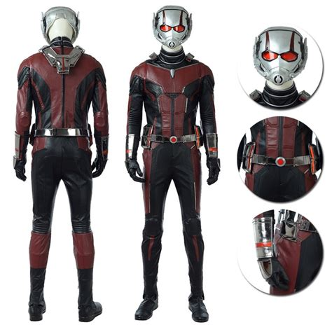 Ant Man And The Wasp 2018 Ant Man Cosplay Costume Top Level