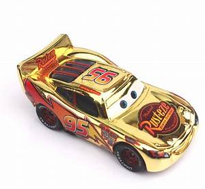 Aliexpress.com : Buy 5 Styles New Pixar Cars 2 Gold Silver ...
