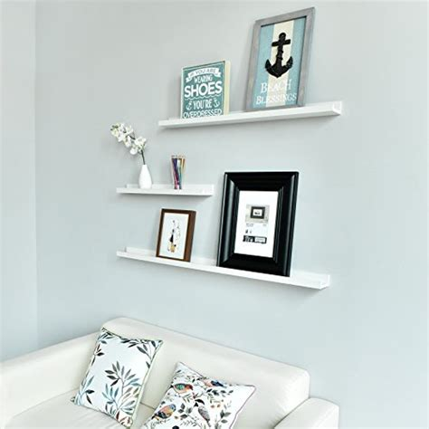 36 inch white floating shelves welland vista picture ledge floating ledge wall shelves 7335