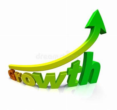 Growth Gradient Arrow Word Clipart Clip Colored