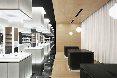 Interior Shiseido Nendo Ginza Flagship Tokyo Jp