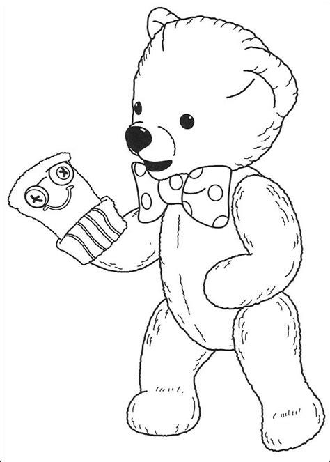 coloriage andy pandy coloriage andy pandy nounours