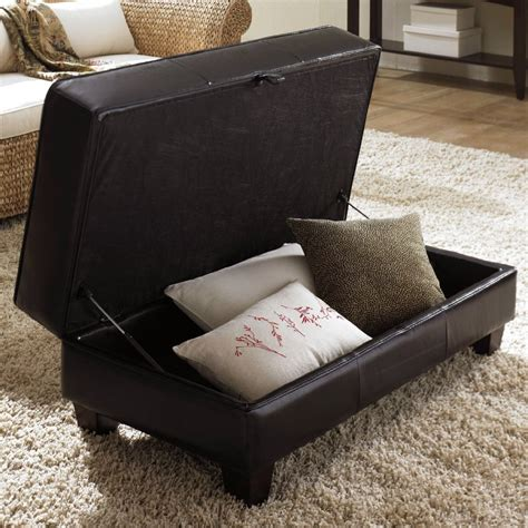 Ottoman Instead Of Coffee Table by Decorate A Leather Ottoman Coffee Table Loccie Better