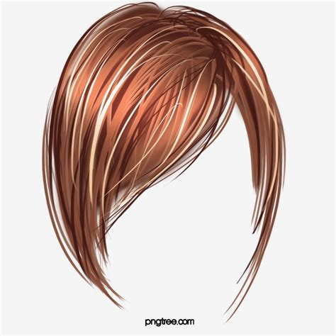 wig hair short hair wig product object png image