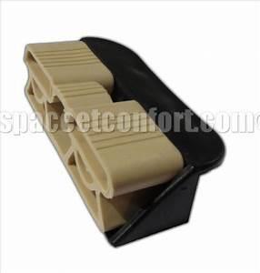 Embout Latte Sommier : embout pour latte double biflex 2x38 mm flatcap 2 tenons ~ Melissatoandfro.com Idées de Décoration