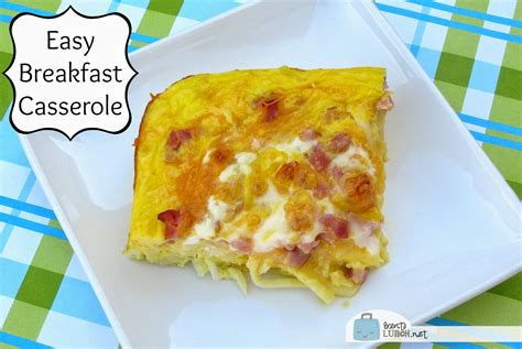 easy breakfast casserole recipe dishmaps