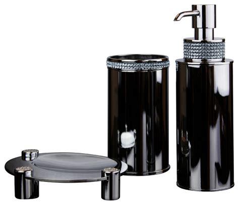 bathroom set swarovski crystals contemporary