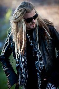 Long Haired Bearded Man