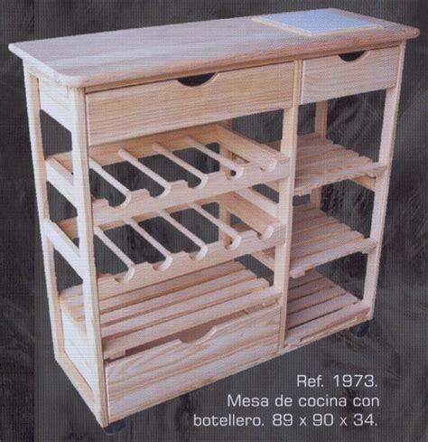mesa de cocina  botellero montemayor