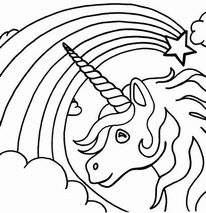 Unicorn Pages Rainbow Activity Via