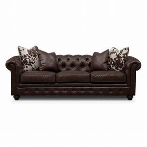 madeline ii leather sofa value city furniture living With leather sectional sofa value city
