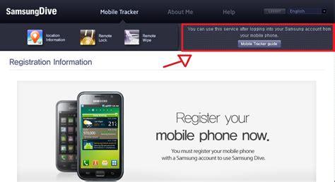 samsung dive mobile tracker apagar dados do celular remotamente cristec
