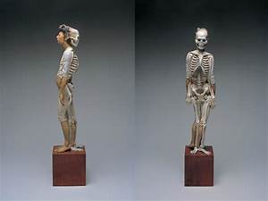 Unusual Sculptures of People and Skeletons Chiseled from ...