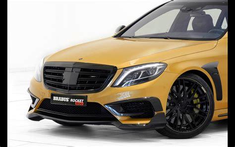 2018 Brabus Mercedes Benz S65 Rocket 900 Desert Gold