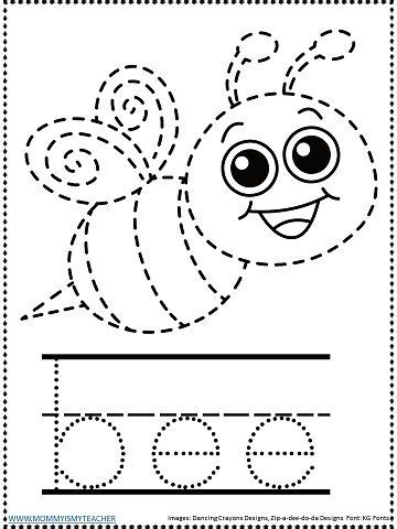 bee tracingjpg bee activities preschool bees activities preschool tracing