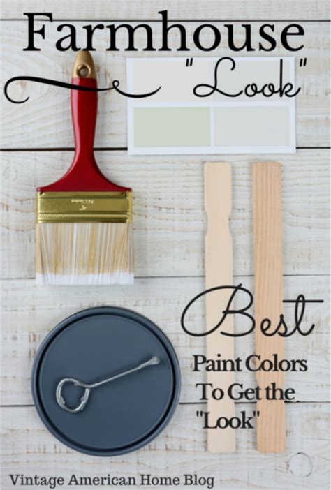 fixer upper farmhouse  paint colors decorate