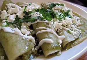 Enchiladas Verdes Recipe — Dishmaps