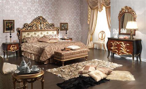 classic emperador black bedroom  carved wood night
