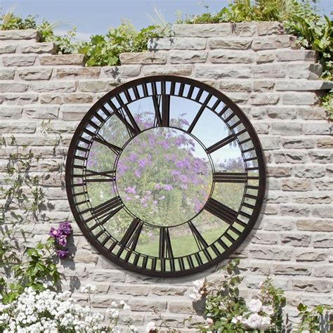 garden wall plaques make your outdoor wall ideas your neighbours envy