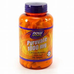 Calcium Pyruvate 1000 Mg By Now Foods