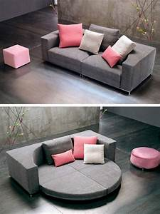 20 colorful creative and comfy couches brit co With circle sofa bed
