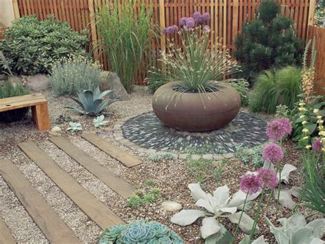 desert xeriscape and rock gardens diy garden projects