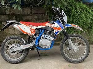 4 Stroke 200cc Dirt Bike Air Cooling   Off Road Motorcycle